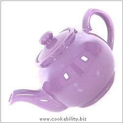 Brights Teapot  Purple. Original product image, © Cookability
