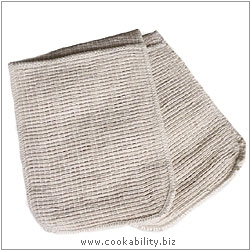 Cookability Double Pocket Oven Gloves. Original product image, © Cookability