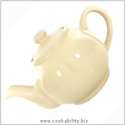 Brights Teapot  Cream. Original product image, © Cookability