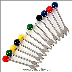 Cookability Snail Picks. Original product image, © Cookability