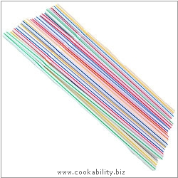 Cookability Drinking Straws. Original product image, © Cookability