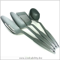 Cookability Lightweight Utensil Set. Original product image, © Cookability