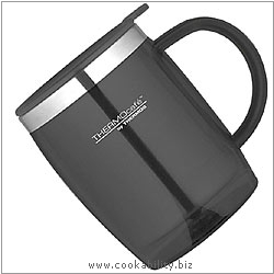 Thermos Thermocafe Desk Mug Black. Original product image, © Cookability