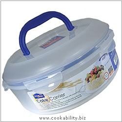 Lock and Lock Cake Carrier. Original product image, © Cookability