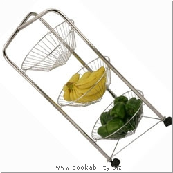 Cookability Storage Trolley. Original product image, © Cookability