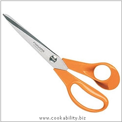 Fiskars General Purpose Scissors. Original product image, © Cookability