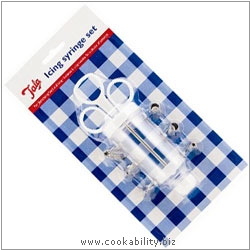 Tala Icing Syringe with 6 Nozzles. Original product image, © Cookability