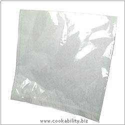 Cookability Film Fronted Bags. Original product image, © Cookability