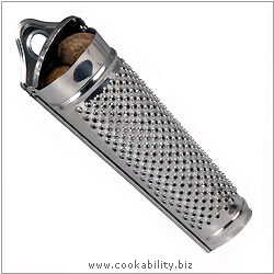 Kitchencraft Nutmeg Grater. Derived work from original images, © Thomas Plant 2006 and prior, used with permission.