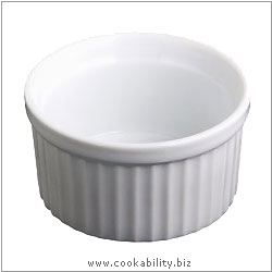 Kitchencraft Ramekin. Derived work from original images, © Thomas Plant 2006 and prior, used with permission.