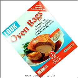 Oven Bags 2 pack. Original product image, © Cookability