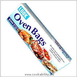 Oven Bags 8 pack. Original product image, © Cookability