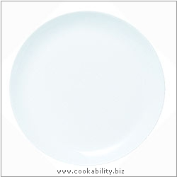 Cookability Round Pizza Plate Platter. Original product image, © Cookability