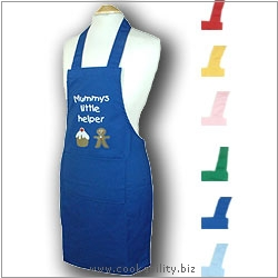 Child's Apron Mummys Little Helper Age 4-7. Original product image, © Cookability