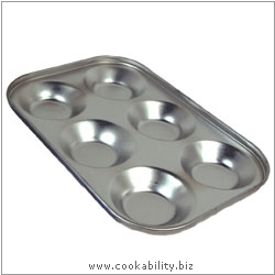 Cookability Tinned Bun Tray. Original product image, © Cookability