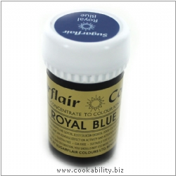 Food Colour Paste Royal Blue. Original product image, © Cookability