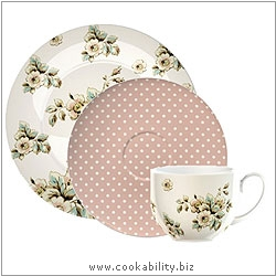 Cookability Afternoon Tea Set. Original product image, © Cookability