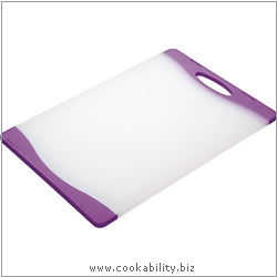 Accessories Reversible Chopping Board Purple. Derived work from original images, © Thomas Plant 2008 onwards, used with permission.