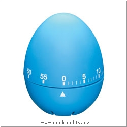 Accessories Soft Touch Egg Shaped Timer