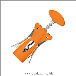 Cast Designer Tools Wing Corkscrew Orange. Derived work from original images, © Thomas Plant 2008 onwards, used with permission.