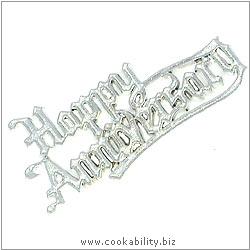 Cookability Happy Anniversary. Original product image, © Cookability