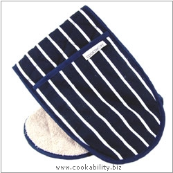 Cookability Navy Double Oven Glove. Original product image, © Cookability