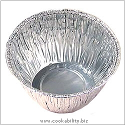 Foilcraft Foil Pudding Basins. Original product image, © Cookability