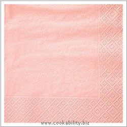 Deeptone Pink Napkins. Derived work from original images, © Edsol, used with permission.