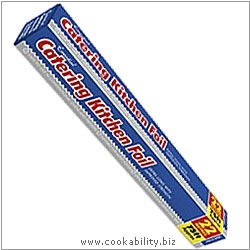 Cookability Catering Kitchen Foil. Original product image, © Cookability
