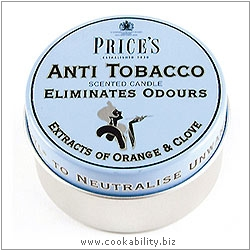 Fresh Air Anti-Tabacco Candle Tin. Derived work from original images, © Price's Patent Candles Limited, used with permission.