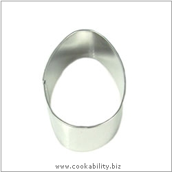 Cookability Egg Cookie Cutter. Original product image, © Cookability