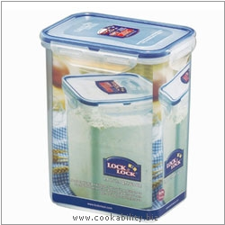 Lock and Lock Tall Rectangular Container. Original product image, © Cookability