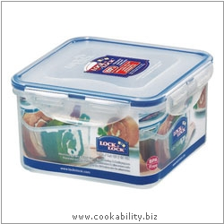 Lock and Lock Square Container. Original product image, © Cookability