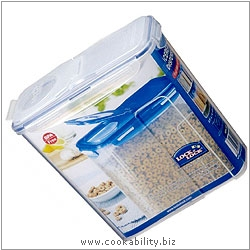 Lock and Lock Cereal Dispenser. Original product image, © Cookability