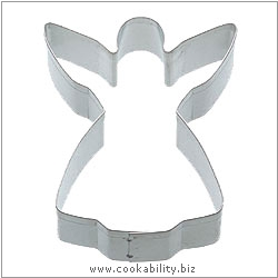 Kitchencraft Angel Cookie Cutter. Derived work from original images, © Thomas Plant 2006 and prior, used with permission.