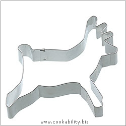 Kitchencraft Reindeer Cutter. Original product image, © Cookability