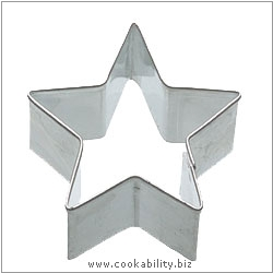 Kitchencraft Star Cookie Cutter. Derived work from original images, © Thomas Plant 2006 and prior, used with permission.