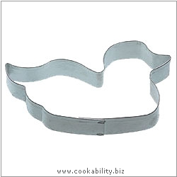 Kitchencraft Duck Cookie Cutter. Derived work from original images, © Thomas Plant 2006 and prior, used with permission.