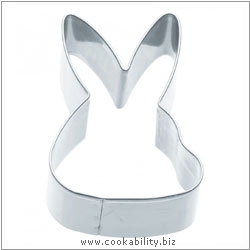 Kitchencraft Rabbit Cookie Cutter. Derived work from original images, © Thomas Plant 2006 and prior, used with permission.