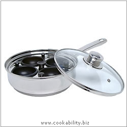 Clearview 4 Hole Egg Poacher. Original product image, © Cookability