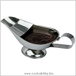 Kitchencraft Gravy Boat. Derived work from original images, © Thomas Plant 2006 and prior, used with permission.