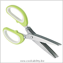Kitchencraft Herb Scissors. Original product image, © Cookability