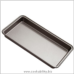 Bakeware Brownie Pan. Derived work from original images, © Thomas Plant 2006 and prior, used with permission.