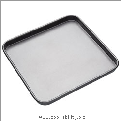 Bakeware Square Bakepan. Derived work from original images, © Thomas Plant 2008 onwards, used with permission.