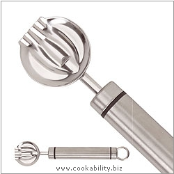 Short Handle Butter Curler. Original product image, © Cookability