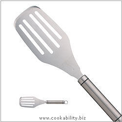 Short Handle Hamburger Turner. Original product image, © Cookability
