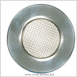 Kitchencraft Sink Strainer. Derived work from original images, © Thomas Plant 2006 and prior, used with permission.