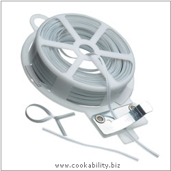 Cookability Twist and Tie Dispenser. Original product image, © Cookability