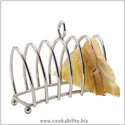 Kitchencraft Wire Toast Rack. Derived work from original images, © Thomas Plant 2006 and prior, used with permission.