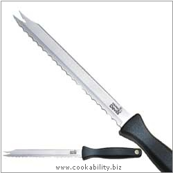 Kitchen devils meat and bread knife 602007 uk for Kitchen devil knife set 9